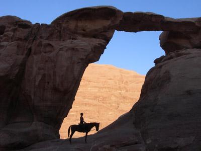 Le viaduc de Millau du Wadi Rum