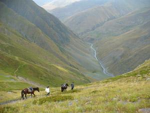 Les magnifiques montagnes du Caucase