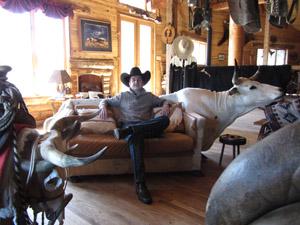 La déco vintage du 4D Longhorn Ranch