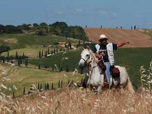 La Toscane, c'est par là !