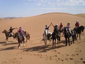 Le Maroc et la dune ici